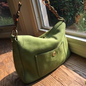 COACH Bag Chelsea Hobo Style Kiwi Green Bag